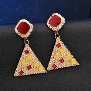 ❤️Anthropologie Fall In- Live Earrings 🍂
